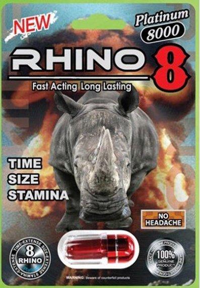 Rhino 8 Platinum 8000mg