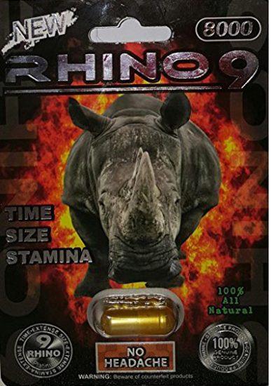 Rhino 9 Platinum 8000