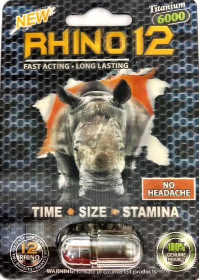 Rhino 12 Titanium 6000