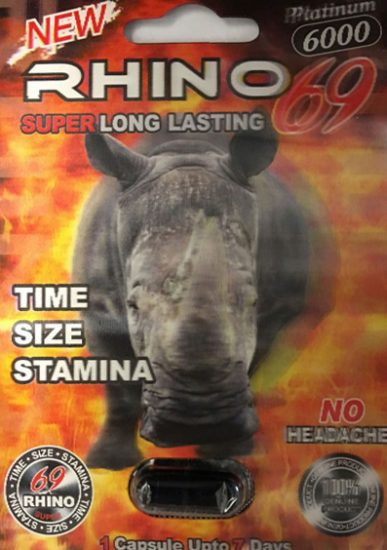 Rhino 69 Platinum 6000